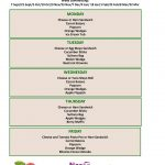 thumbnail of Packed Lunch Menu – Autumn 2020