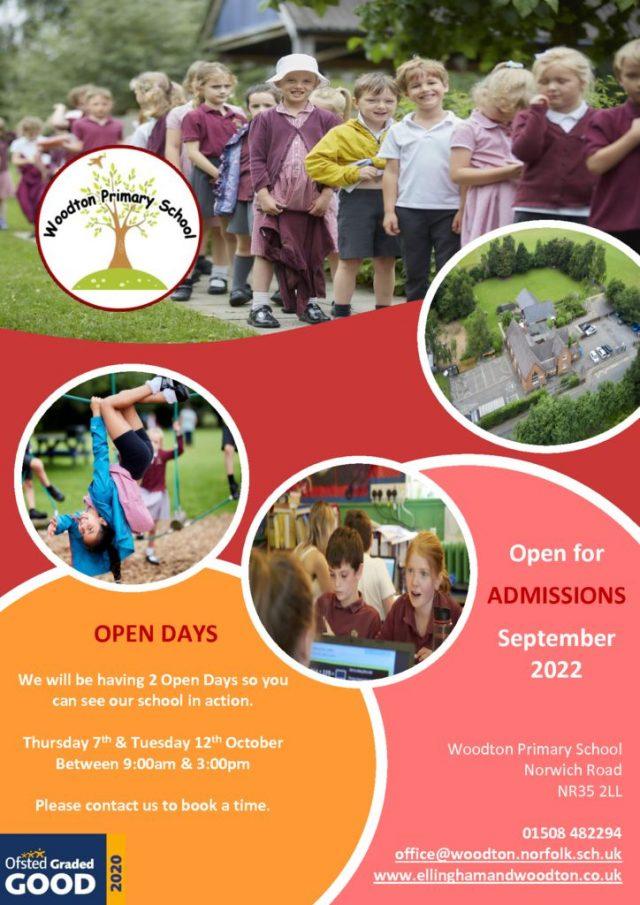 thumbnail of Woodton Flyer Open Day